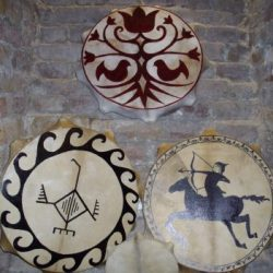 Shaman drums